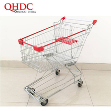 asia supermarket shopping trolley cart 100L