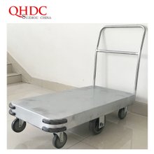 6 wheels hand cart trolley