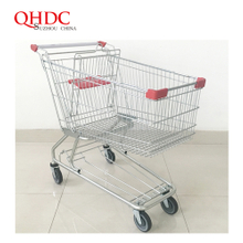 american supermarket cart shopping trolley 150L